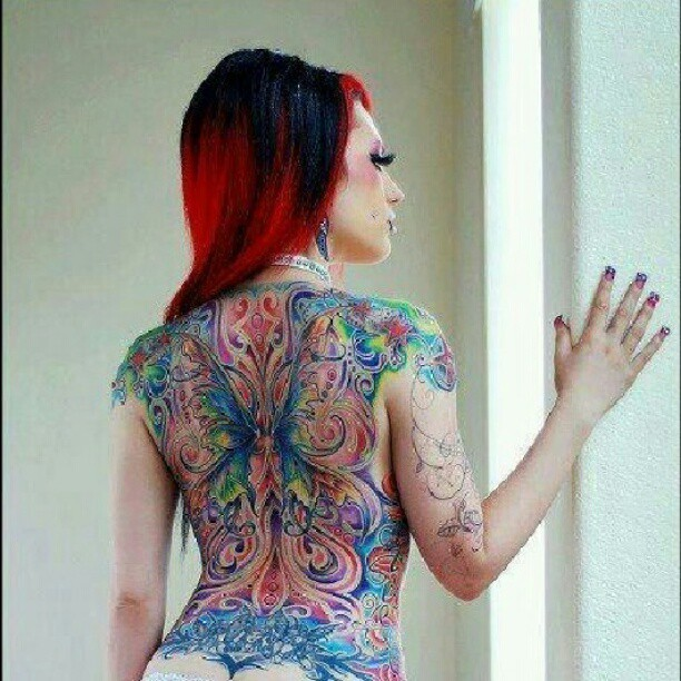 #Beauty #tattoo #redhead  (Taken with Instagram)