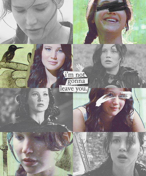 20 fictional females - 06. Katniss Everdeen (The Hunger Games)