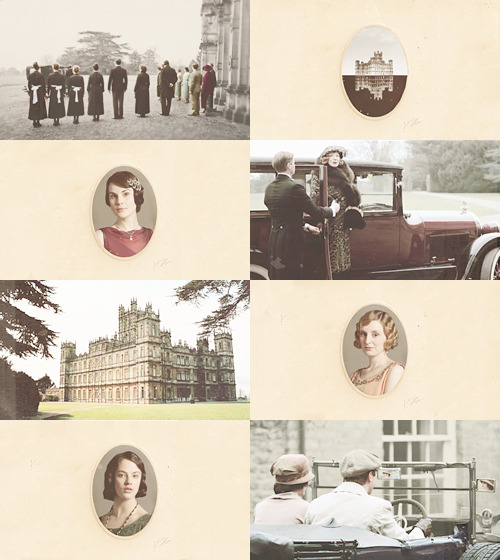 Through war and peace, Downton still stands and the Crawleys are still in it.