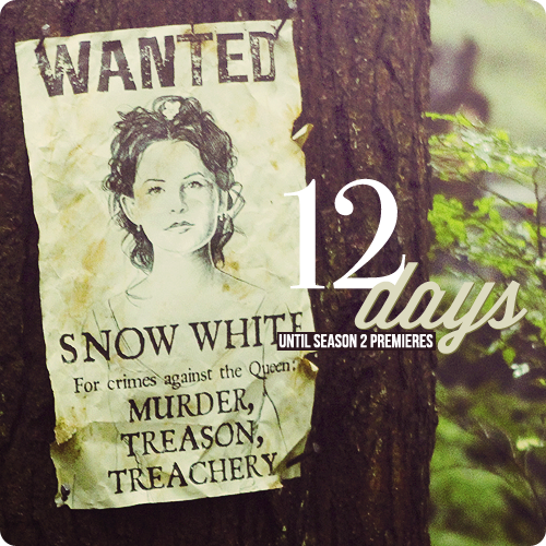 whyweloveonceuponatime:  Countdown to Season 2 → 12 days