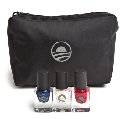 Obama sellin this red-white-and blue nali polish set