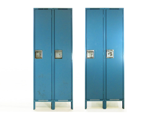 Vintage Blue Lockers