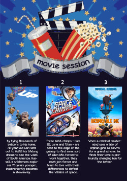 Movie session options - TopWay English School
