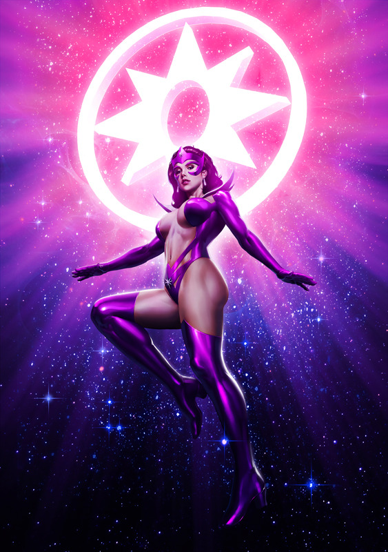 Star Sapphire by Casey Heying / colors Admira Wijaya