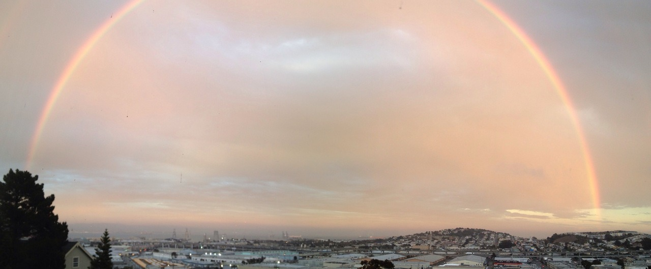Favorited Rainbow over San Francisco by craig sakowitz http://flic.kr/p/d6HMMQ
