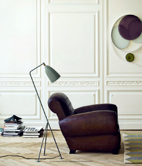 smpl-thngs:  Maison Hand, Lyon - design et mobilier contemporain Grasshopper Floor LampDesigned by Greta Grossman, produced by Gubi