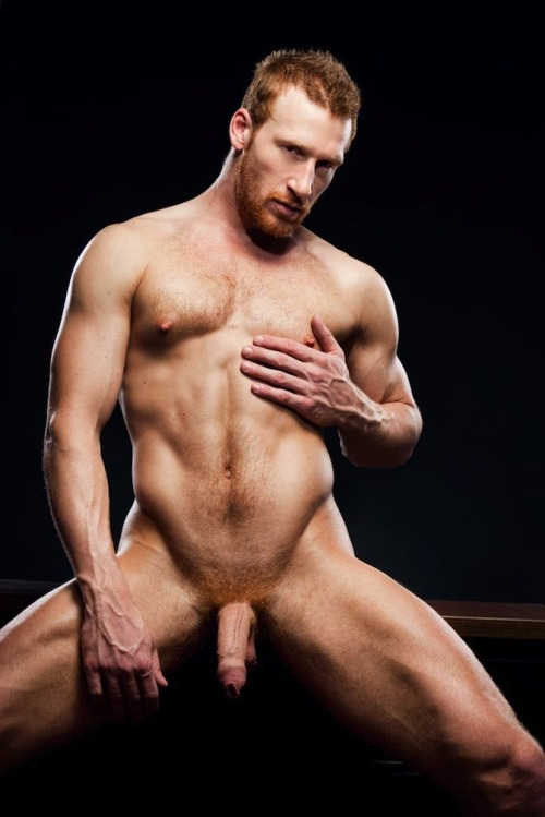 sexy bearded redhead and a great foreskin…