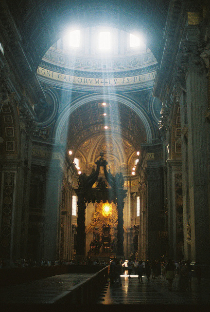 st. peter's basilica (unedited) by clockwise witness on Flickr.