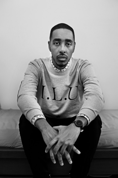 theiloveuglyblog:  Oddisee x I Love Ugly x Jerry Buttles. Editorial and track available next week.  - I Love Ugly