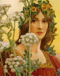 Elisabeth Sonrel - Our Lady of Cow Parsley