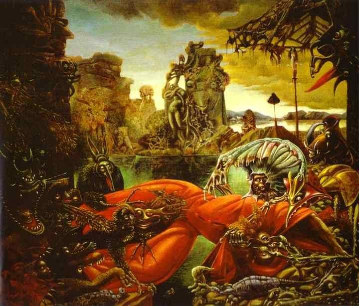 Max Ernst - The Temptation of St. Anthony