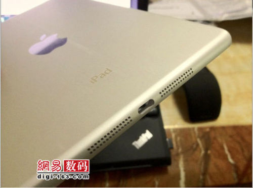 iPad Mini? High-quality images claim to show 'iPad mini' housing in detail  By AppleInsider Staff New photos claiming to show the machined aluminum back casing bound for a rumored 7.85-inch iPad hit the web on Wednesday, adding to the mountain of purported leaks relating to Apple's fall iDevice lineup.