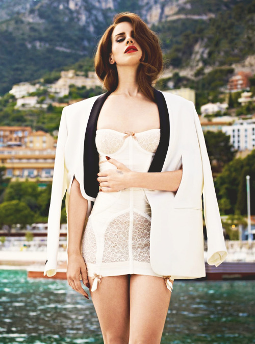 Lana Del Rey photographed by Mariano Vivanco for British GQ magazine, 2012