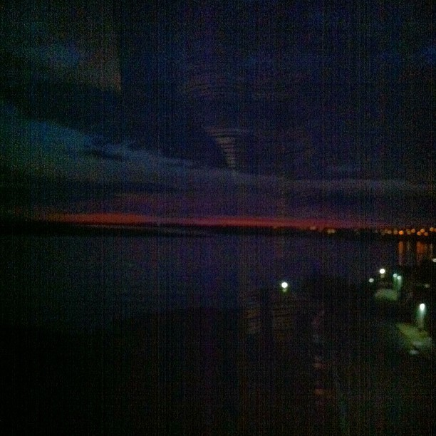 #harrahs #jersey #sunrise #sun #skyline #pink #ocean #lake #atlanticcity #jerseyshore #AC #lights #nature #sky #clouds #DTS #stuckintime  (Taken with Instagram)