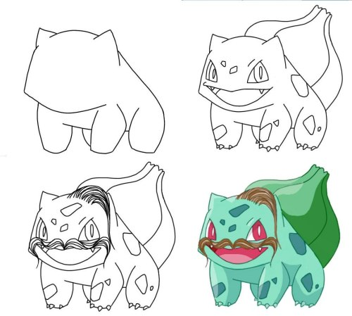 Taras Bulba, depicted as a bulbasaur. Genius.