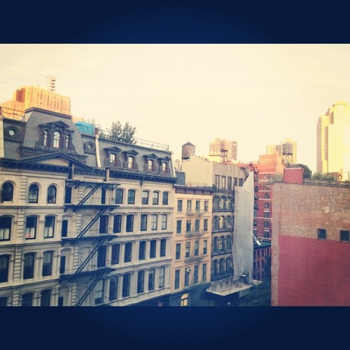 Good morning New York! (Taken with Instagram)