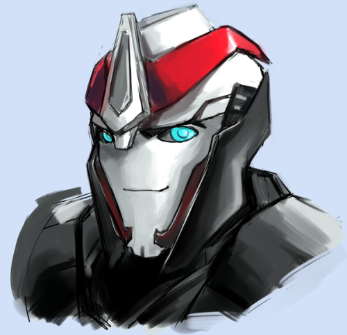 roboyajis:  not very good but tried my hand at smokescreen! i cant wait for the ep so i can get some better references!