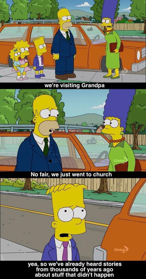 monkeyonback:  Simpsons does it again.