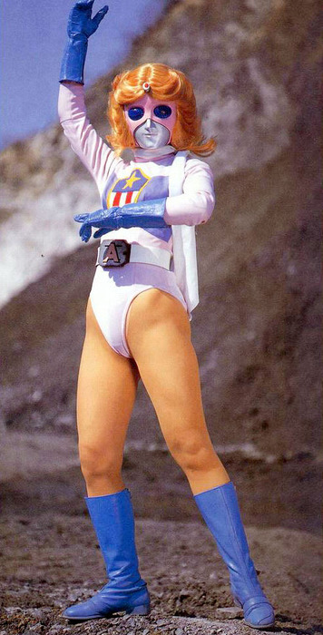 themarvelageofcomics:  celamowari:  Miss America  From BATTLE FEVER J, which started life as a Marvel co-production.