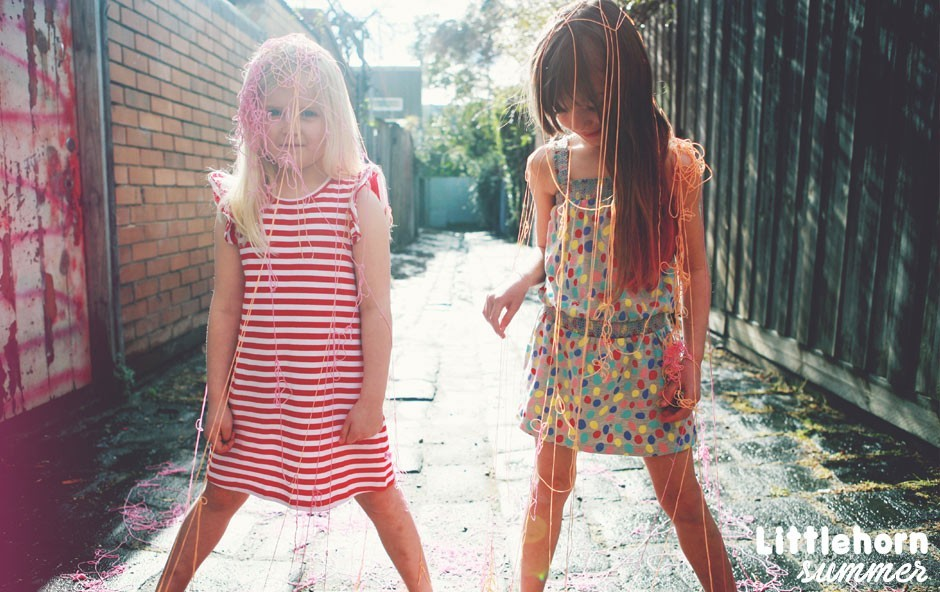 We love Littlehorn! This australian brand has an amazing collection for girls, boys and babies.