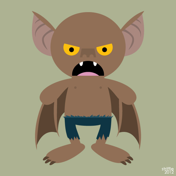 Almost Daily Characters: Man-Bat