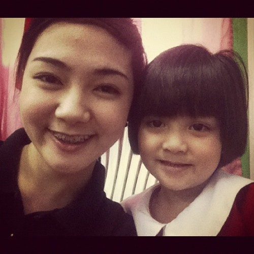 With Baby Troll :) ❤ (Taken with Instagram)