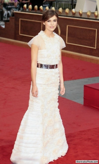 Keira Knightley in Chanel at the London Premiere of Anna Karenina!