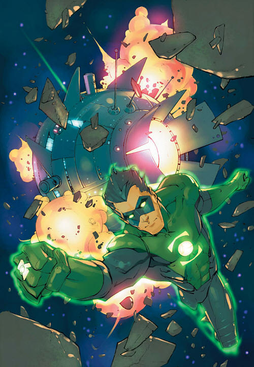 Green Lantern Vol 3 #171, art by Keron Grant