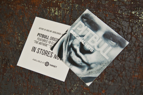 "Album promo stickers with a liner print for multi-platinum hitmaker Pitbull.   Product: Vinyl Stickers with Liner Print Stock: UV Coated Vinyl Size: 4 x 4"" Inks: Full Color Front + One Color Liner Print"