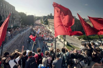 socialismartnature:  Major victory for Quebec students! Tuition fee hike & anti-protest bills withdrawn! « Education Activist Network Students and their supporters throughout the Canadian province of Quebec are celebrating the ousting of Liberal Premier Jean Charest, the withdrawal of Bill 78 and most importantly the freeze in tuition fees. This victory comes after six months of student strike involving more than 190 000 students. Quebec students who already paid the lowest tuition fees across North America were faced with a 75% tuition fee increase. Even if the planned increase had gone ahead, Quebec students still would have pay less than in any other Canadian province. Why? Quebec students have a strong tradition of fighting for free education since the Quiet Revolution of the 1960s. And if you fight you can win! During the six month –long strike many the demonstrations held on the 22nd of each month reached up to 500 000 protesters. However, it was the roughly180 local unions organised in CLASSE which carried the fight from day to day shutting down the Port of Montreal, ministerial meetings and nearly all classes in post-secondary education across the province. In the face of state repression, the use of tear gas, shock grenades, the arrest of thousands of protesters, and riot police in college corridors, students didn't buckle but instead called upon workers and the neighbourhoods to join in nightly pots and pans protests, the casseroles. Charest's unpopular Bill 78 acted as a catalyist for the student movement to turn into a popular movement.