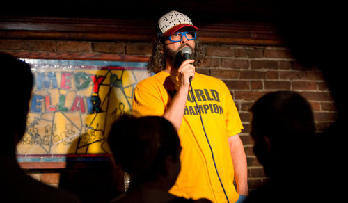 Working a Crowd Is Part of the Act - Judah Friedlander's Stand-up Comedy