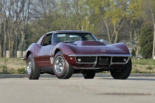 corvettes:  1969 L88 Coupe Corvette
