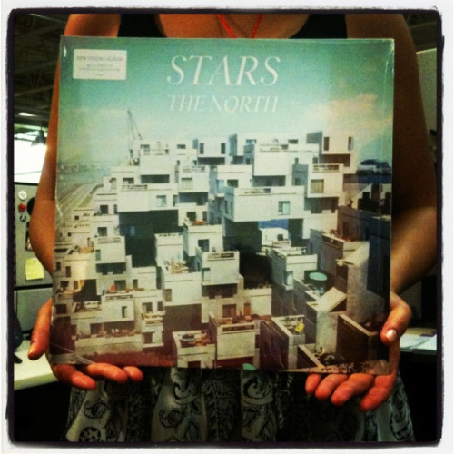 Re-blog for your chance to win a copy of The North by Stars on vinyl.