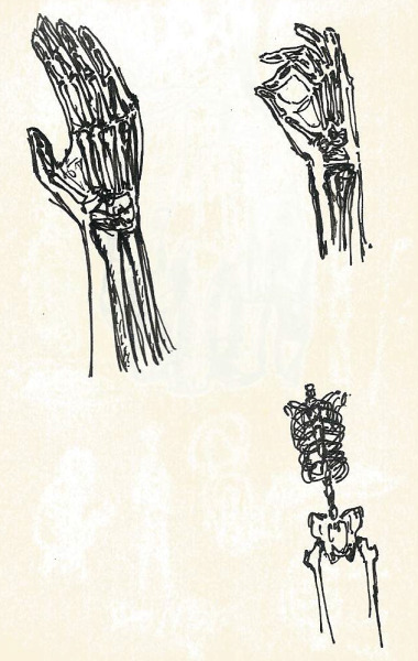 yourgenericblog:  More Hands and Anatomy Black Pen on Moleskin