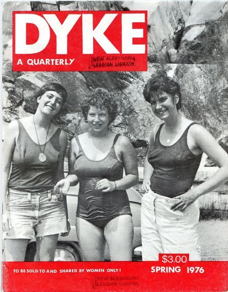 somanymagazines:  via Our Legacy: Six Lesbian Magazines From The Then Before Now