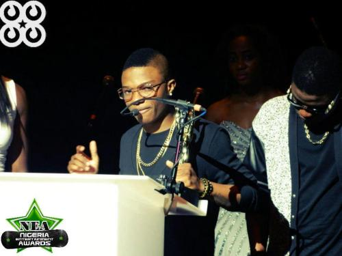 BET Award winner Wizkid walked away with the awards for Artist of the Year and Best Album of the Year at the 2012 Nigeria Entertainment Awards