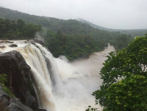 South Indian Niagra (Athirapally falls)#falls #Androidgrapher #India #kerala #tour #water #happymoments #photography(from @mdkaleel on Streamzoo)