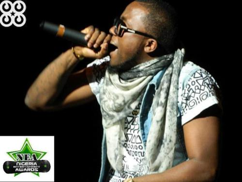 Ice Prince performing at the 2012 Nigeria Entertainment Awards.