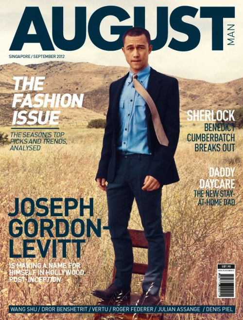 Joseph Gordon-Levitt (August Man Singapore, September 2012)