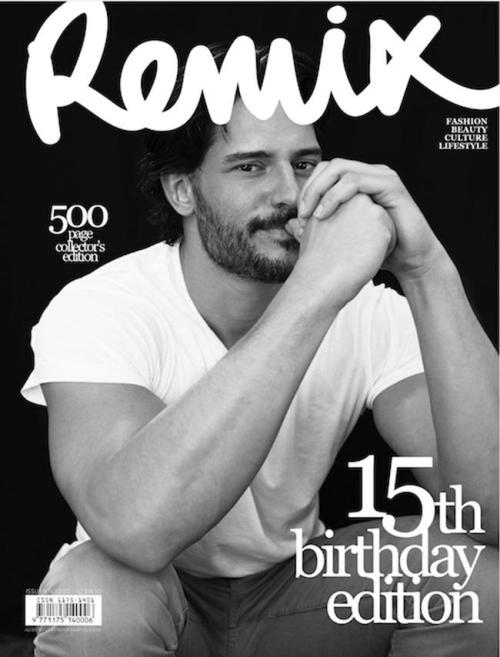 Joe Manganiello (Remix magazine, september 2012)