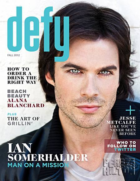 Ian Somerhalder (Defy, Fall 2012)