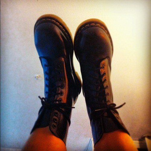 #new #shoes !! #drmartens #docs #boots (Taken with Instagram)