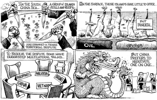 KAL's cartoon: this week, underlying problems.