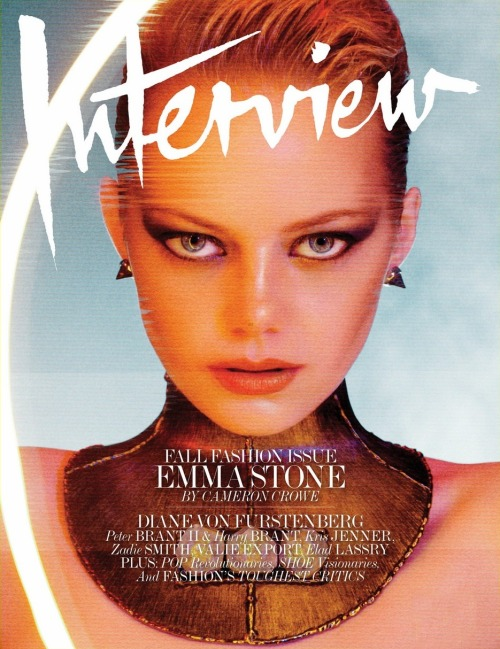 Emma Stone (Interview, September 2012)