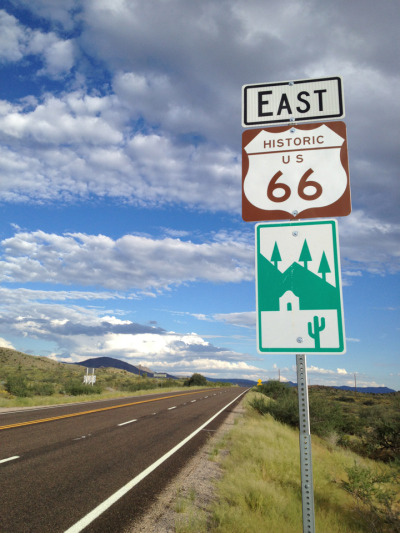"""Get your kicks, on route 66"""