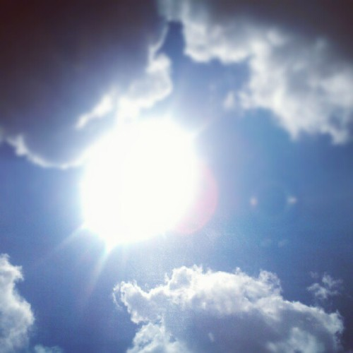 So I heard you like the sun. (Taken with Instagram)