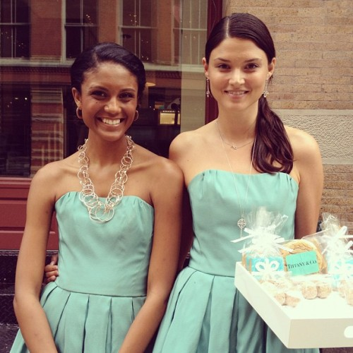Love how @TiffanyAndCo is celebrating their Soho Grand Opening! Blue box sweets ;) (Taken with Instagram)
