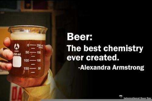 Beer: The best chemistry ever created