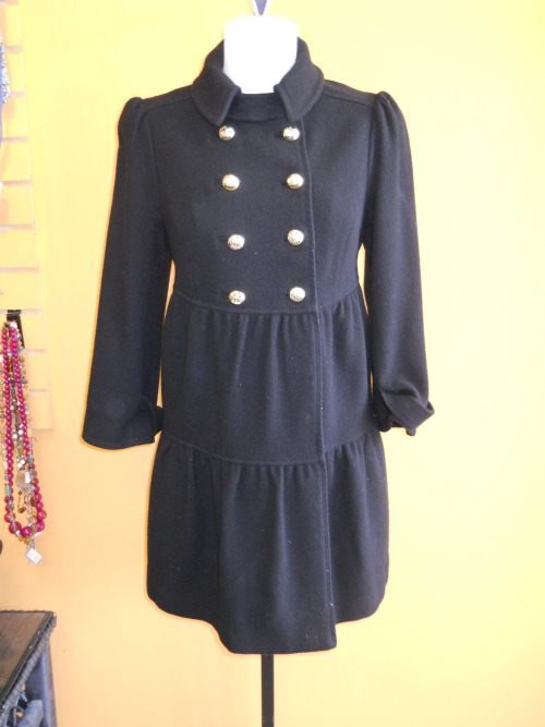 Ready for cool weather? We are! This long Juicy Couture coat is available at our Ridge location in a size M!