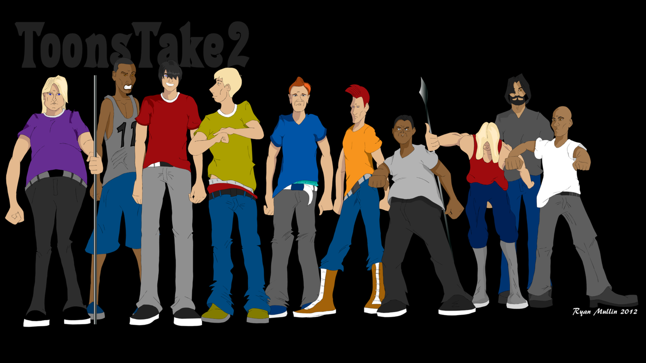 Meet some of the cast of the upcoming short animation 'One Against Many'. These guys make up part of the gang. This is a gang with a plan be it a smart plan or not.